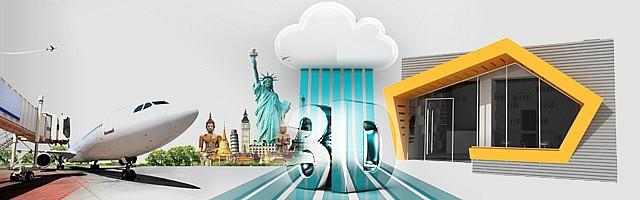 Outsourcing 3D Rendering banner