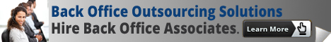 Backoffice Outsourcing Solutions